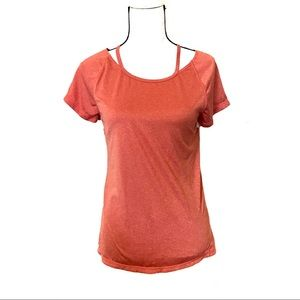 Z by Zella orange workout athletic top